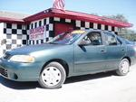 2001 NISSAN SENTRA GXE SEDAN! CD PLAYER! COLD AC! SOLID GREEN BODY! AUTOMATIC! CHEAP PRICE!